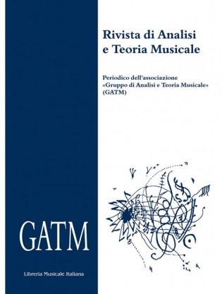 Rivista di Analisi e Teoria Musicale XVI, 2010/2