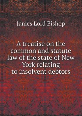 A Treatise on the Common and Statute Law of the State of New York Relating to Insolvent Debtors