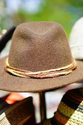 Felt Hats on a Stand Journal