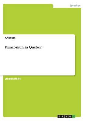 Französisch in Quebec