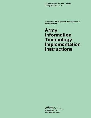 Army Information Technology Implementation Instructions