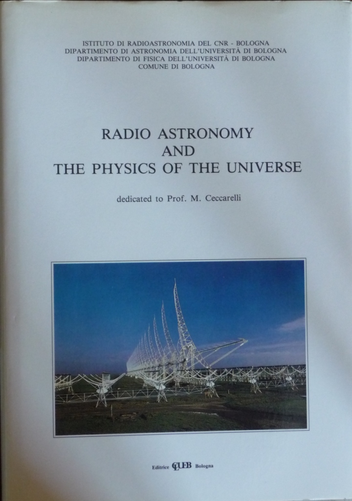 Radio Astronomy and the Physics of the Universe