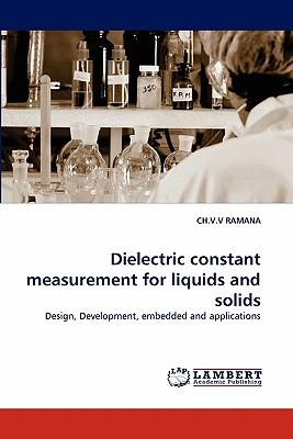 Dielectric constant measurement for liquids and solids