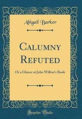 Calumny Refuted