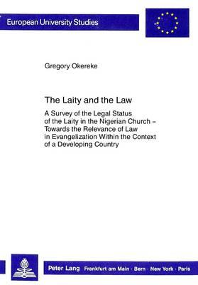 The Laity and the Law