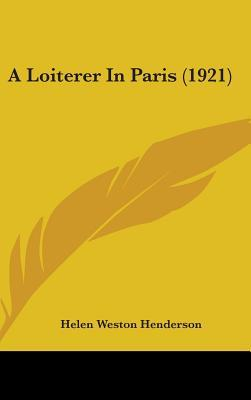 A Loiterer in Paris (1921)