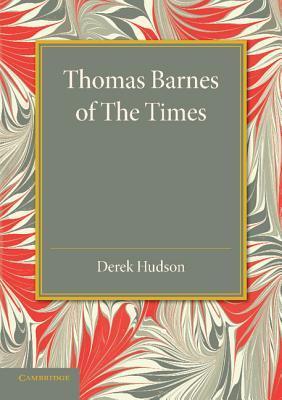 Thomas Barnes of The Times