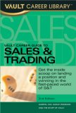 Vault Career Guide to Sales & Training, 2nd Edition