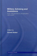 Military Advising and Assistance