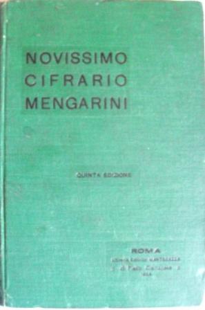 Novissimo Cifrario Mengarini