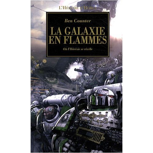 La galaxie en flammes