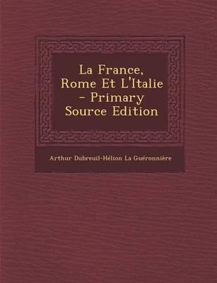 La France, Rome Et L'Italie