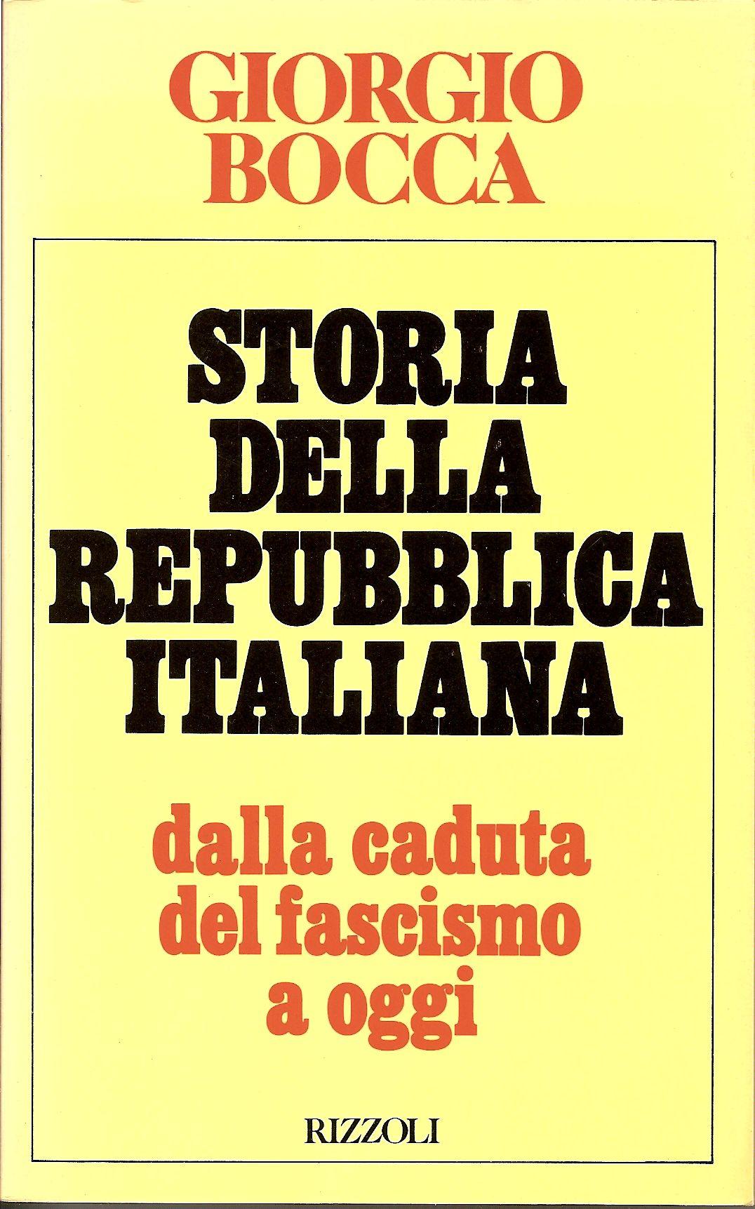 Storia della Repubblica italiana