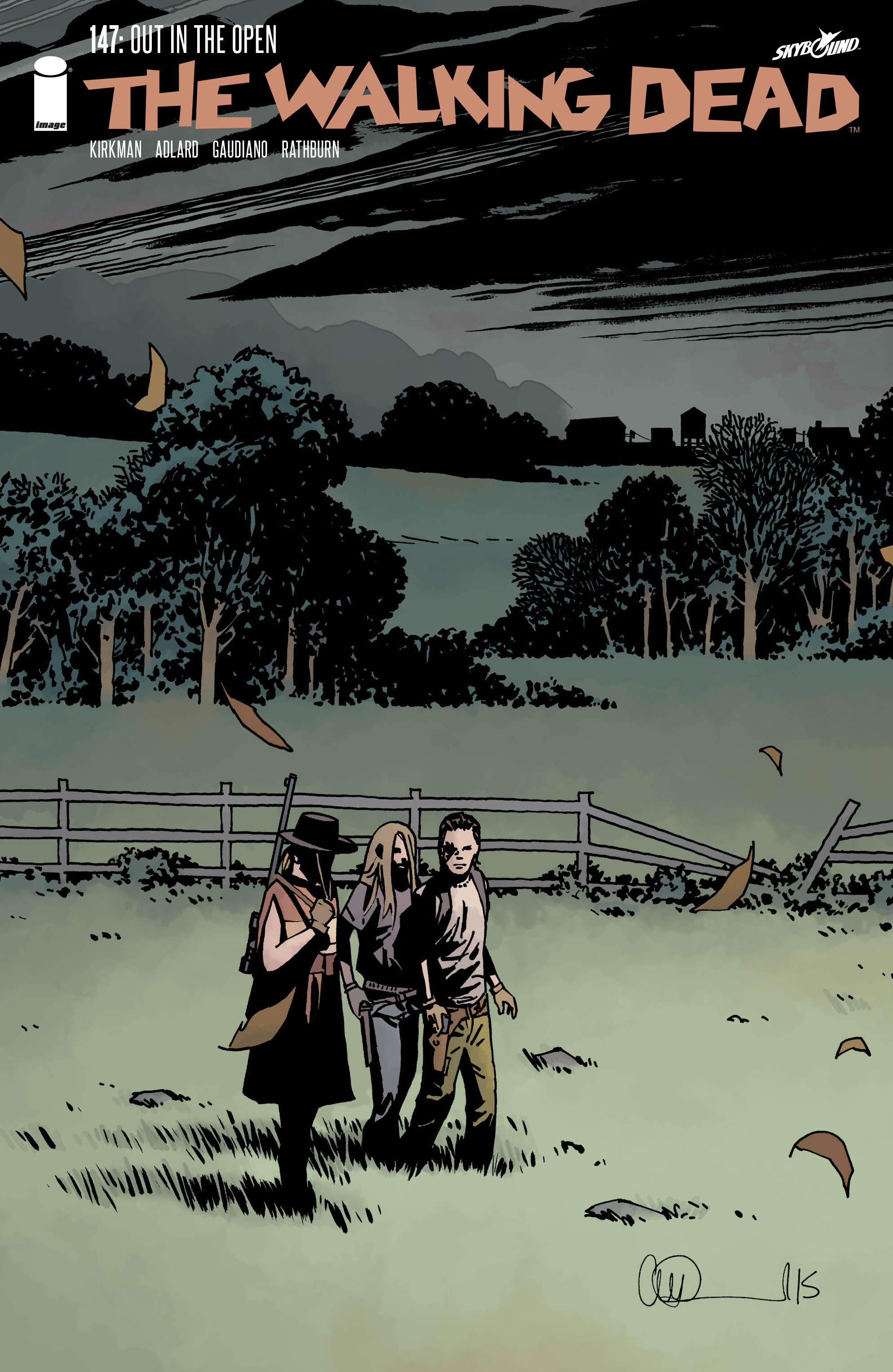 The Walking Dead #14...