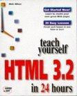 Teach Yourself Html ...