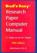 Bud's Easy Research Paper Computer Manual