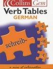 German Verb Tables