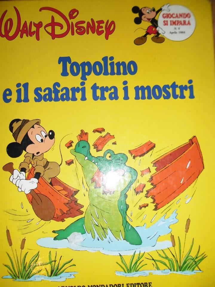 Topolino e il safari tra i mostri