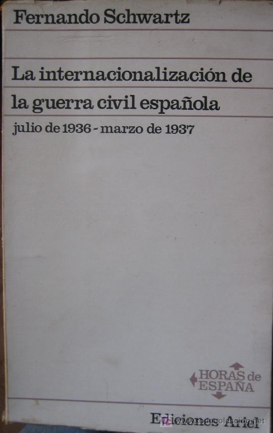 La internacionalización de la guerra civil española