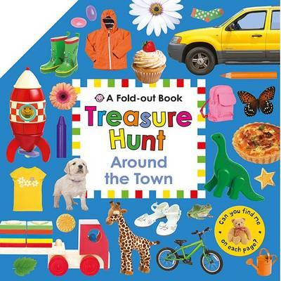 Around the town (board book)