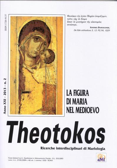Theotokos : ricerche interdisciplinari di mariologia : rivista semestrale dell'Associazione mariologica interdisciplinare italiana