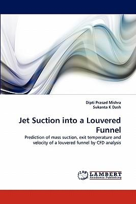 Jet Suction into a Louvered Funnel