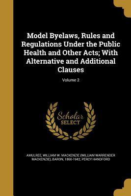 MODEL BYELAWS RULES & REGULATI