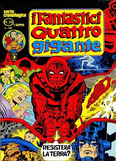 I Fantastici Quattro Gigante n. 36