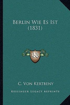 Berlin Wie Es Ist (1831)