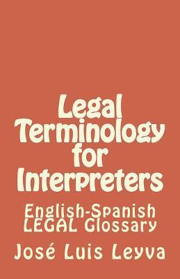 Legal Terminology for Interpreters