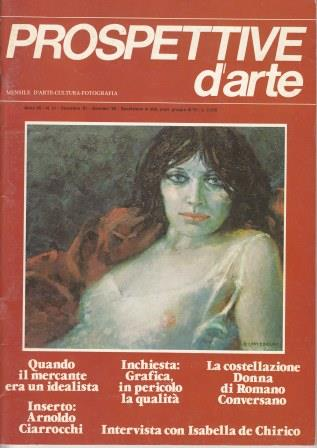 Prospettive d'arte - Anno VII - n. 51, dicembre 1981-gennaio 1982