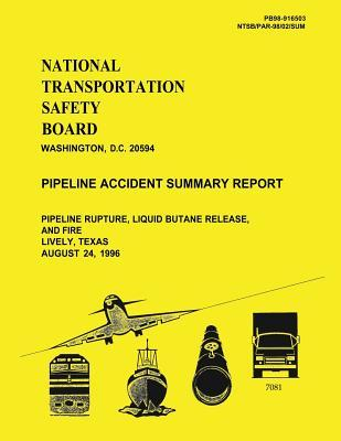 Pipeline Accident Summary Report