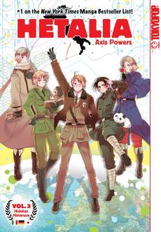 Hetalia: Axis Powers, Vol. 3