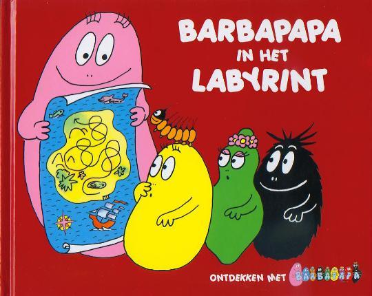 Barbapapa in het labyrint