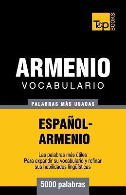 Vocabulario español-armenio - 5000 palabras más usadas