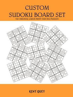 Custom Sudoku Board Set