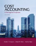 Cost Accounting and New Mal/Etext Sac Pkg