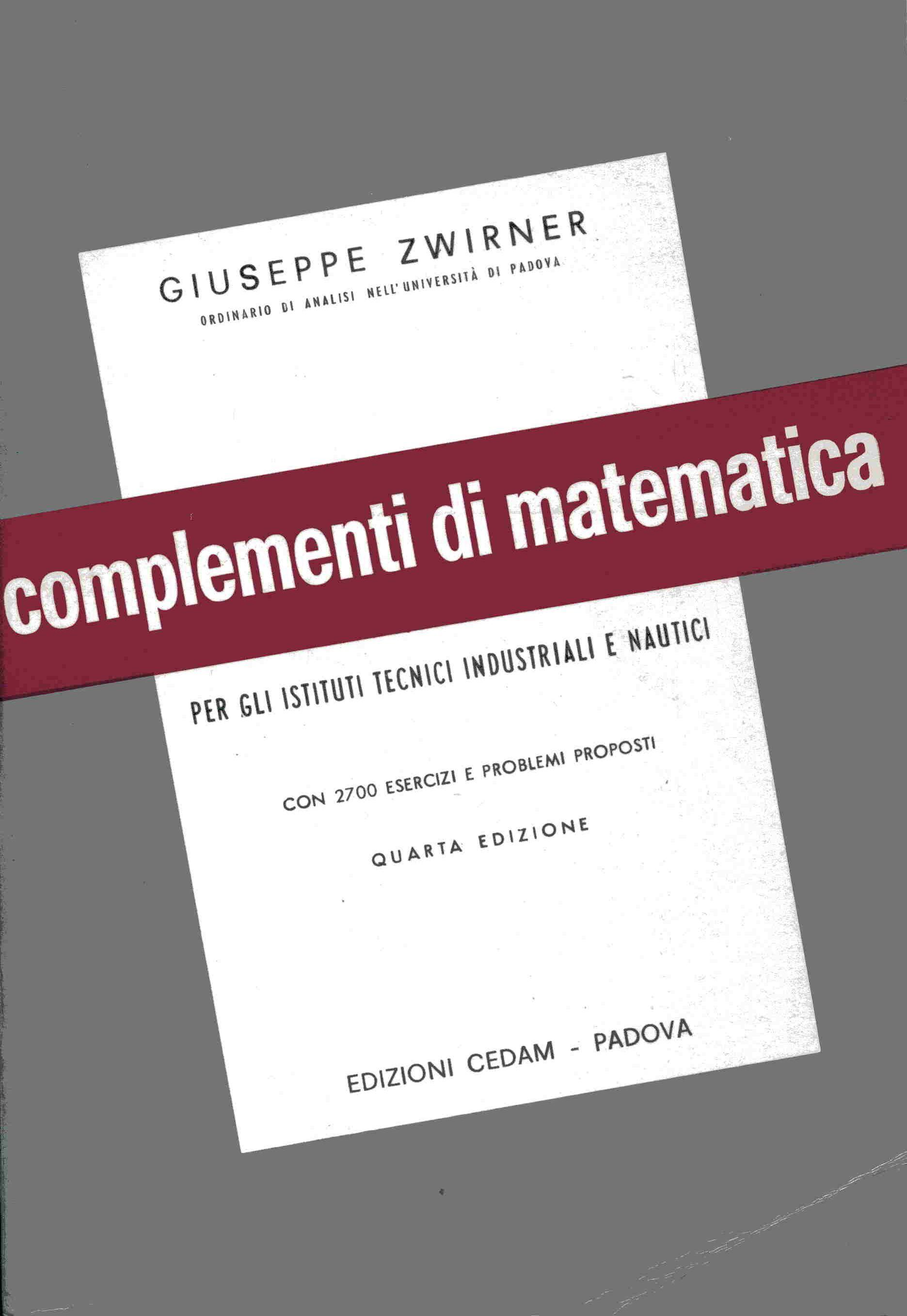 Esercizi e complementi di analisi matematica