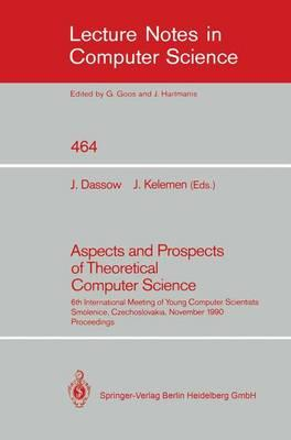 Aspects and Prospects of Theoretical Computer Science