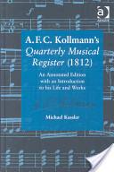 A. F. C. Kollmann's Quarterly Musical Register (1812)