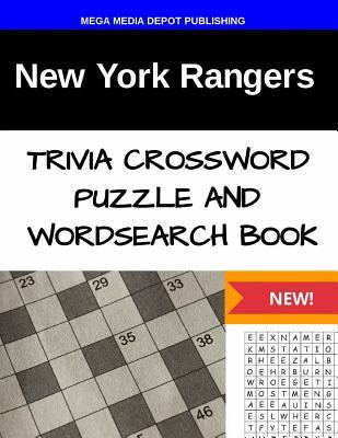 New York Rangers Trivia Crossword Puzzle and Word Search Book