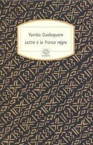 Lettre à la France nègre