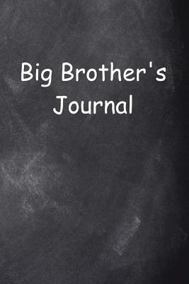 Big Brother's Journal Chalkboard Design
