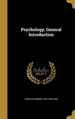 PSYCHOLOGY GENERAL INTRO