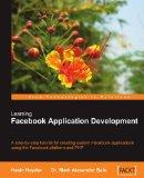 Learning Facebook Application Development