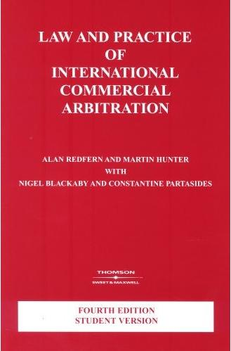 Law and Practice of International Commercial Arbitration