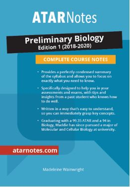 Preliminary Biology Complete Course Notes