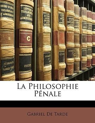 La Philosophie Pnale