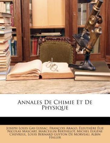 Annales de Chimie Et...