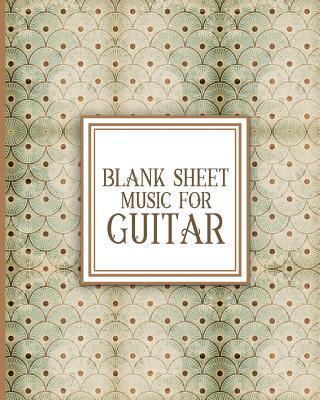 Blank Sheet Music for Guitar